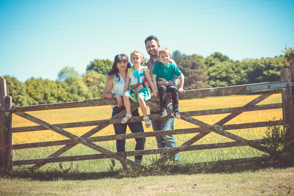 S Butler Photography Portrait Photographer Sussex Gate Family
