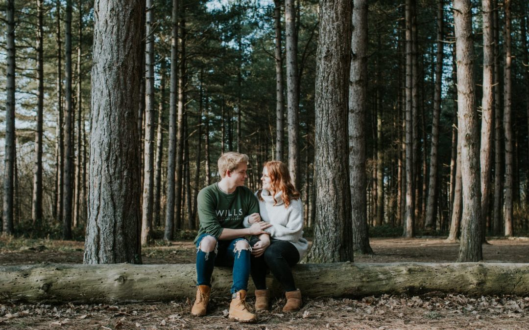 Kat & Bailey – Pre Wedding Session @ Abbotts Wood, East Sussex